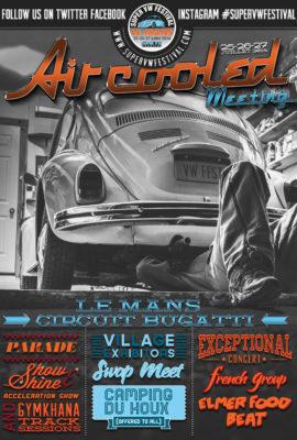 Affiche Super VW Fest A4